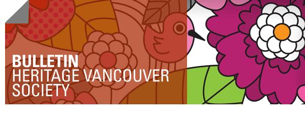 Bulletin - Heritage Vancouver Society