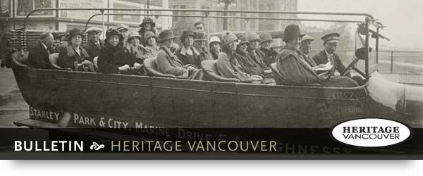 Heritage Vancouver - Bulletin
